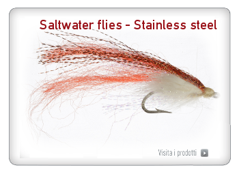 Saltwater flies - Stainless steel